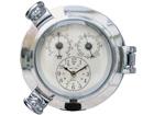 Часы с термометром и гигрометром WR-73756