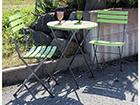 Складной комплект садовой мебели Flip