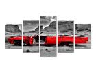 Картина из 5-частей Машина 200x100 см ED-75055