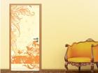 Фотообои Grunge Orange Scroll 100x210cm ED-76711
