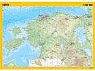 Regio Eesti общегеографическая настенная карта 99x70 cm RW-77020