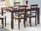 Удлиняемый обеденный стол 90x160-200 cm TF-77474