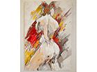 Масляная картина Акти портрет женщины 120x80 cm SI-78066