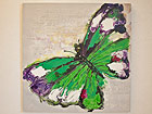 Масляная картина Бабочка 100x100 cm SI-78073