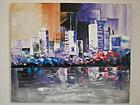 Масляная картина Город на закате 100x120 cm SI-78074