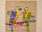 Масляная картина Попугаи 80x80 cm SI-78130