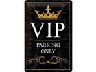 Металлический постер в ретро-стиле VIP Parking only 20x30cm SG-78388