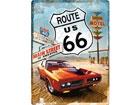 Металлический постер в ретро-стиле Route 66 Gas Up 30x40cm SG-78394