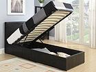 Кровать с ящиком для белья Prado 90x200 cm AQ-78931
