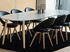 Удлиняющийся обеденный стол Belina 100x170-270 cm CM-79284