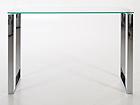 Стеклянный стол Katrine 110x40 cm CM-79477