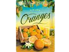 Металлический постер в ретро-стиле Oranges 30x40 cm SG-80076