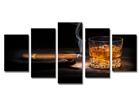 Картина из 5-частей Сигара 200x100 см ED-80882