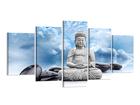 Картина из 5-частей Буда 200x100 см ED-80888