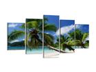 Картина из 5-частей Пальмы 200x100 см ED-80890