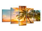 Картина из 5-частей Пляж 200x100 см ED-80916