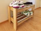 Полка для обуви из массива сосны PT-81470