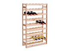 Деревянная полка для вина GB-82116