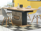 Удлиняемый обеденный стол 90x160-200 cm TF-84251