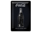 Металлический постер в ретро-стиле Coca-Cola Sign of good taste 20x30 cm SG-84333