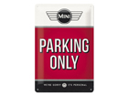 Металлический постер в ретро-стиле Mini Parking only 20x30 cm SG-84340