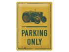 Металлический постер в ретро-стиле Tractor Parking Only 30x40 cm SG-84347