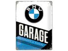 Металлический постер в ретро-стиле BMW Garage 30x40 cm SG-84349