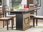 Удлиняющийся обеденный стол 90x160-200 cm TF-84579