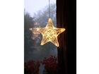 Рождественская декорация на окно Täht 25 cм AA-84628