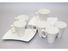 Кофейная чашка с блюдцем Wing 6 шт NN-85672