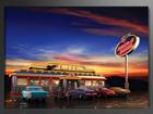 Настенная картина USA retro 60x80 см ED-86129