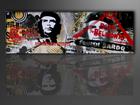 Настенная картина Che Guevara 120x40 см ED-86140