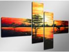 Картина из 4-частей Optik 160x70 см ED-86575