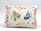 Декоративная подушка из гобелена Птицы 35x48 cm TG-86702
