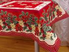 Рождественская скатерть Frutoas Navidad 100x100 см TG-86799