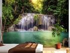 Фотообои Waterfall in the tropics 360x254 см ED-88032