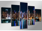 Картина из 5-частей New York 200x100 см ED-88845