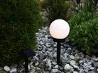 Садовая лампа с солнечной панелью 15 см