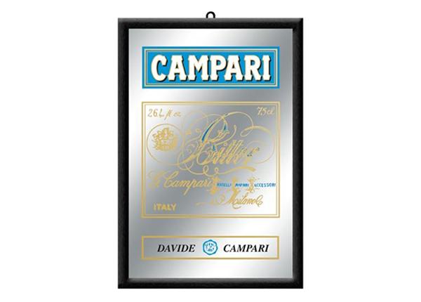 Рекламное зеркало в ретро-стиле Campari 30x20 см SG-89994