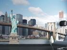 Флизелиновые фотообои Statue of Liberty 360x270 см ED-90564