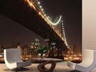 Флизелиновые фотообои Bridge at night 360x270 см ED-90568