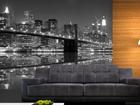 Флизелиновые фотообои New York in black and white 360x270 cm ED-90571