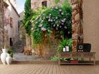 Флизелиновые фотообои Courtyard 360x270 см ED-90585