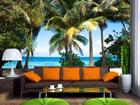 Флизелиновые фотообои Palm trees 360x270 см ED-90589