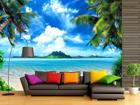 Флизелиновые фотообои Tropical beach 360x270 см ED-90599