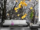 Флизелиновые фотообои Yellow leaves 360x270 см ED-90603