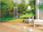 Флизелиновые фотообои Waterfall 360x270 см ED-90617