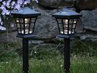 Комплект садовых светильников с солнечной панелью 2 шт AA-90651