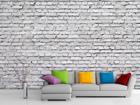 Флизелиновые фотообои White brick 360x270 см ED-90660