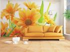Флизелиновые фотообои Orange flowers 360x270 см ED-90662